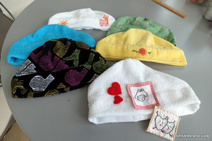 <!--:en-->Michigan Towel Cap Group<!--:--><!--:ja-->ミシガン タオル帽子の会 癌患者に手作り帽子を寄贈<!--:--> 5