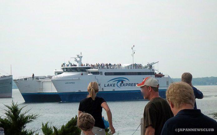 <!--:en-->Lake Michigan Ferry Crossing<!--:--><!--:ja-->大海原のようなミシガン湖のフェリー横断<!--:--> 1