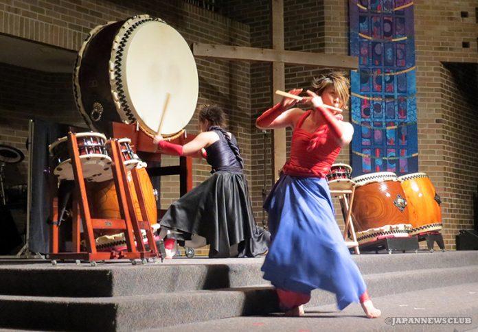 <!--:en-->Japan Wadaiko Visits Michigan<!--:--><!--:ja-->日本の和太鼓奏者がミシガンで指導と演奏<!--:--> 9