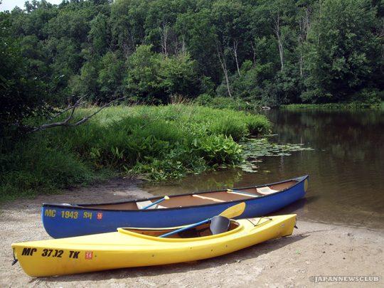 水が豊かなミシガンの湖や川の自然に親しもう (6)