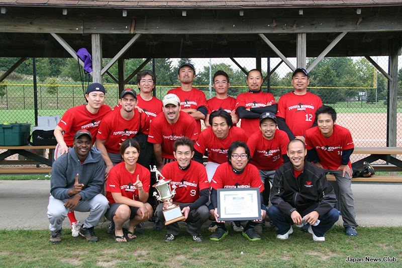 22nd JBSD Softball TournamentJBSDスポーツ部会主催 22回親善ソフトボール大会 8