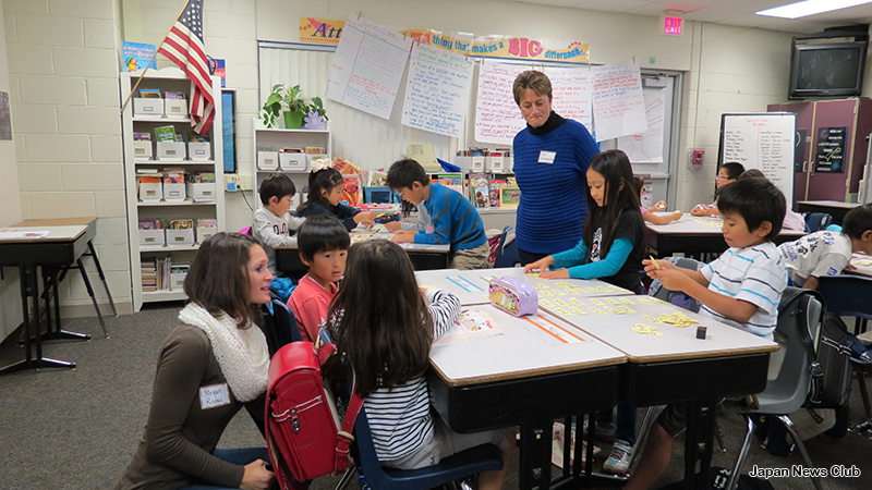 JSD Open Houseデトロイトりんご会補習授業校 現地教育関係者を迎えオープンハウス  7