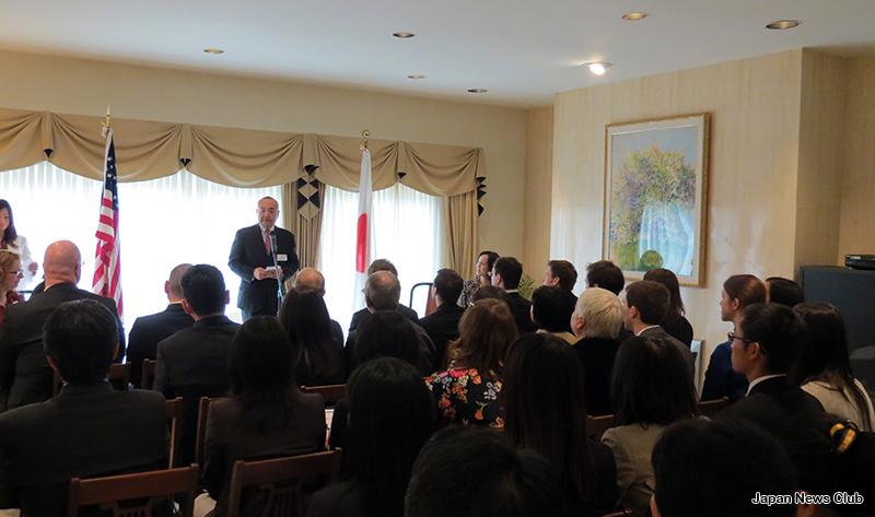<!--:en-->Consulate-General of Japan Hosts JET Program Reception To Honor Returning Educators<!--:--><!--:ja-->在デトロイト総領事館主催  JETプログラム帰任者 / 語学教育関係者 交流レセプション<!--:--> 1