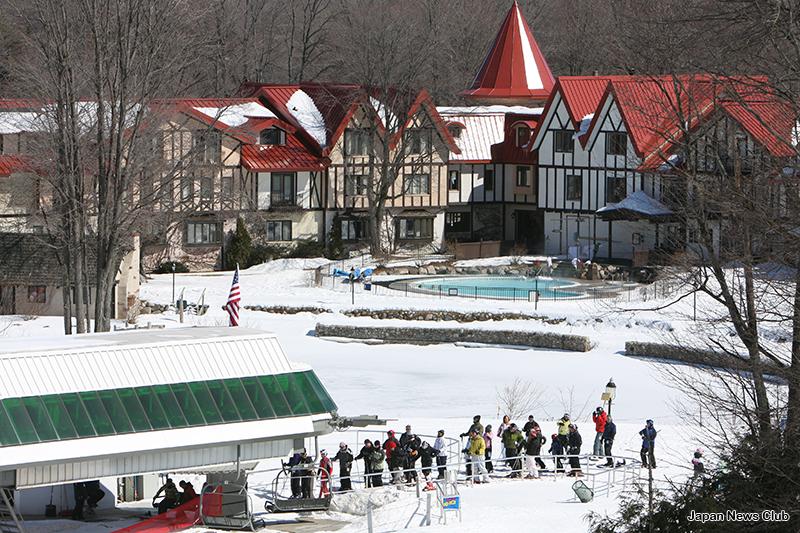 寒いミシガンにはウィンタースポーツ、冬のリゾートの歴史がある 11