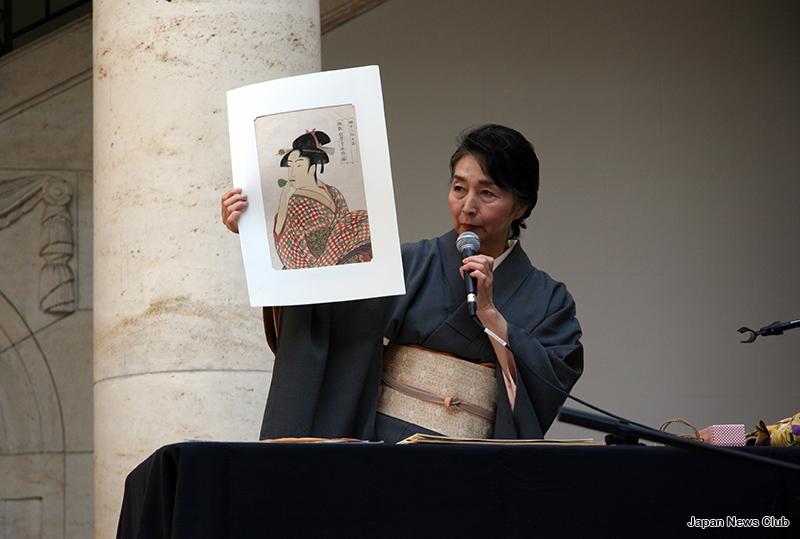 Ukiyoe & Lecture at Boston & Detroit日本から版元と摺師を迎え 浮世絵 実演+レクチャー 9