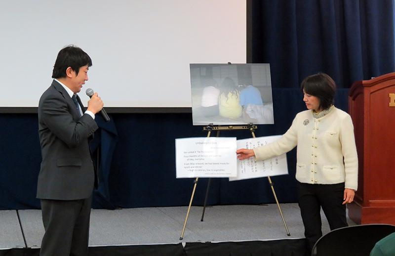 ミシガン大学で開催された東日本大震災3周年追悼イベントミシガン大学で開催された東日本大震災3周年追悼イベント 2
