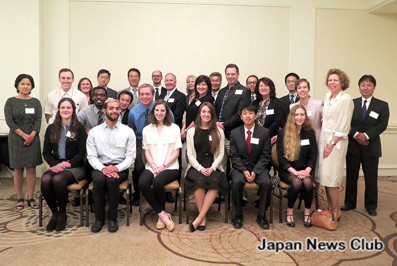 日本留学を支援するJBSD基金スカラシップ 受賞者昼食会 3