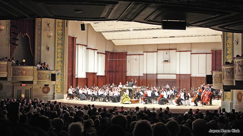 デトロイト市の姉妹都市、豊田市よりジュニア・オーケストラが渡米ミシガンのオーケストラと協演
