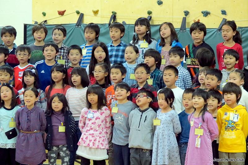 デトロイトりんご会補習授業校 音楽会 2
