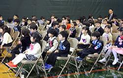 小学部入学式