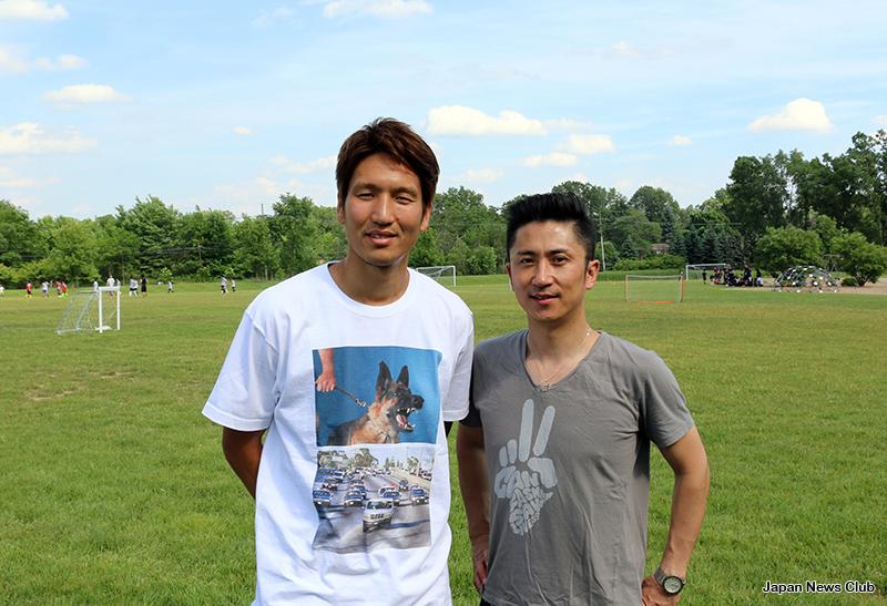サッカー日本代表 原口選手 ミシガン来訪! Brilliant+のサッカーキャンプで指導、デトロイト・サッカースクールでも見学交流 5