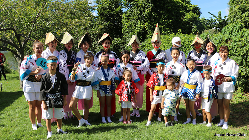 30周年を迎えたサギノー市の日本文化センター『阿波鷺能庵』主催 日本祭 11