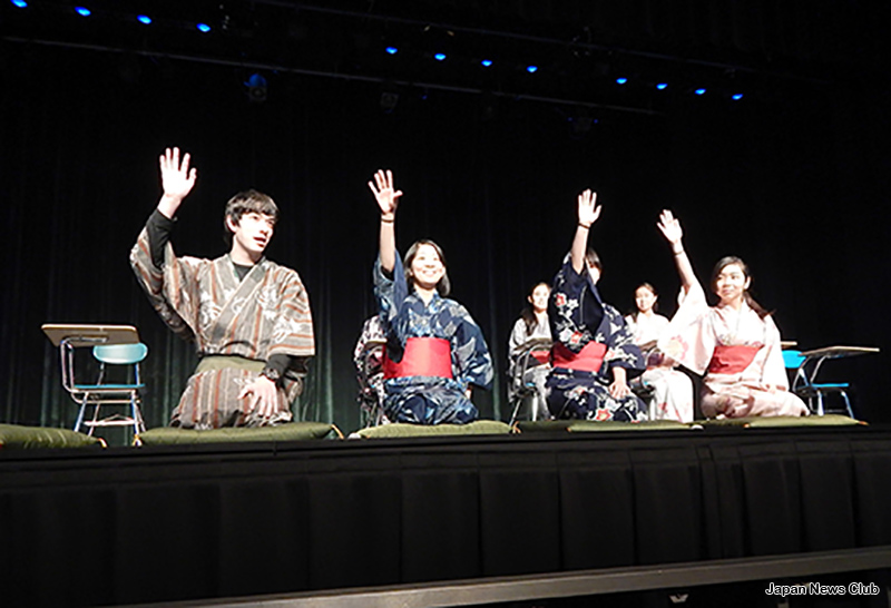 デトロイト補習授業校中高等部ミニ文化祭 3
