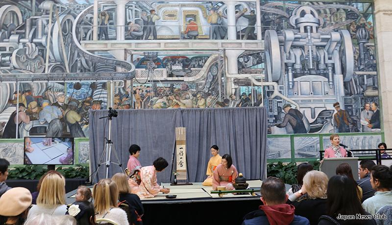 デトロイト美術館で 桃の節句 ひな祭りイベント 7