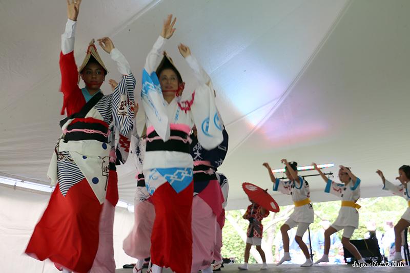 サギノー市 の日本文化センター 『阿波鷺能庵』主催日本祭 Japan Festival in Saginaw 1