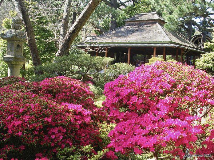 アメリカ屈指の日本庭園 その1 2